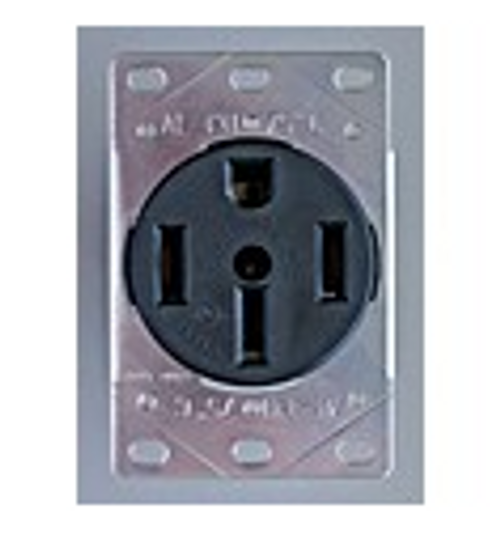 MOTOR BASE RECEPTACLE - 50 AMP FEMALE (19-1022)