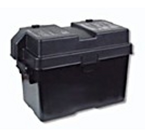 BATTERY BOX - GROUP 27 - BLACK (19-1026)