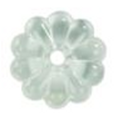 PLASTIC ROSETTES - CLEAR (20-1109)