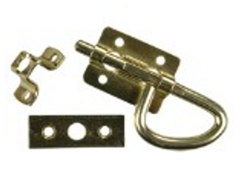 UNIVERSAL BRASS SLIDING BOLT LATCH (20-1143)