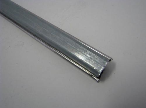 Spartan Slider Window Channel, Stainless Steel - Bottom (CHW008)