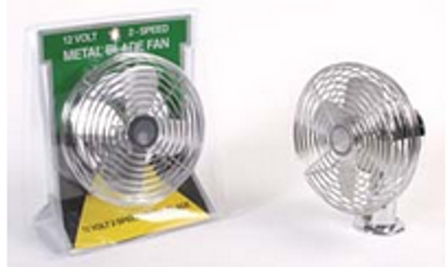 HEAVY DUTY 2 SPEED FAN CHROME (22-1000)