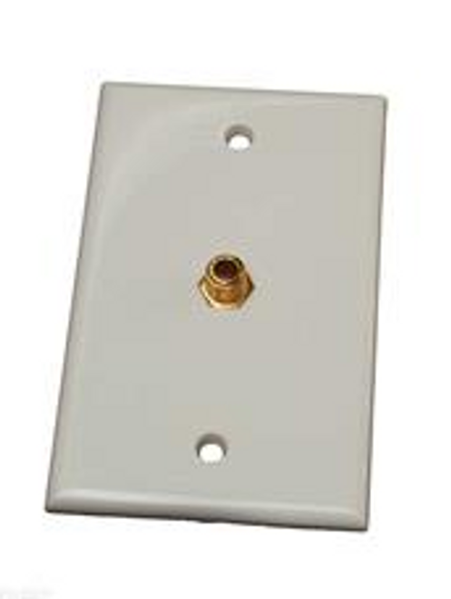 TV OUTLET - WHITE (24-1004)