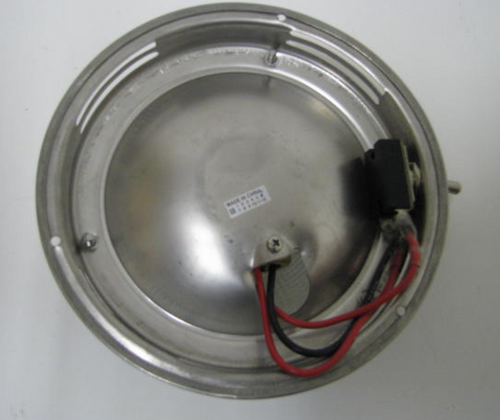 "Dome Light - 5-1/2"" Stainless Steel "" (18-2002)"