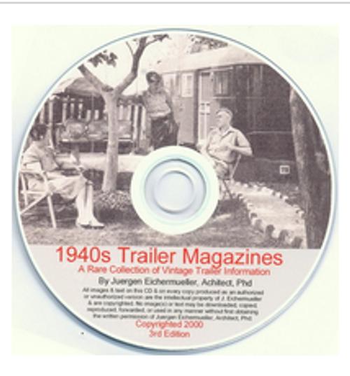 CD-ROM 1940's Trailer Magazine Collection (CBL001)