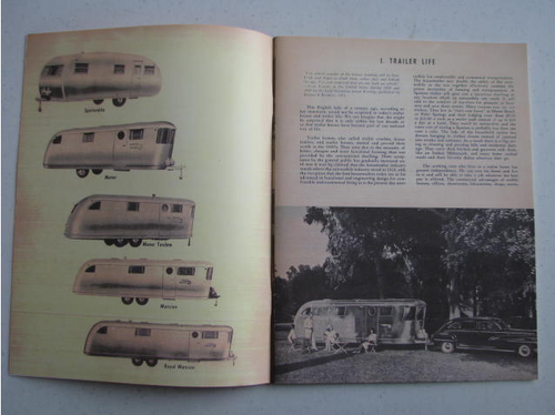 Spartan Owners Manual (BL018) PICTURED OPENED