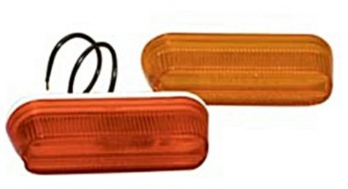 GROTE THIN-LINE CLEARANCE LIGHT REPLACEMENT LENS - RED (18-3005)