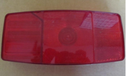 MIRO-FLEX TAILLIGHT - #343 REPLACEMENT LENS (18-3014)