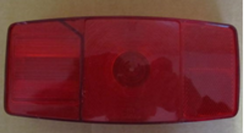 MIRO-FLEX TAILLIGHT - #342 REPLACEMENT LENS (18-3015)
