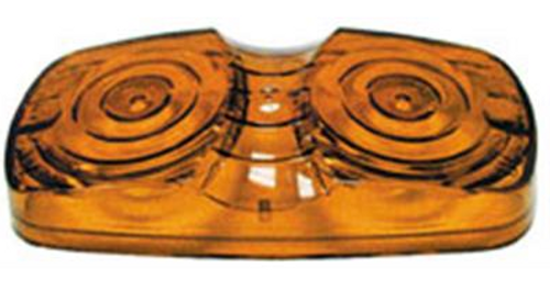 PETERSON #138 REPLACEMENT LENS - AMBER (18-3038)