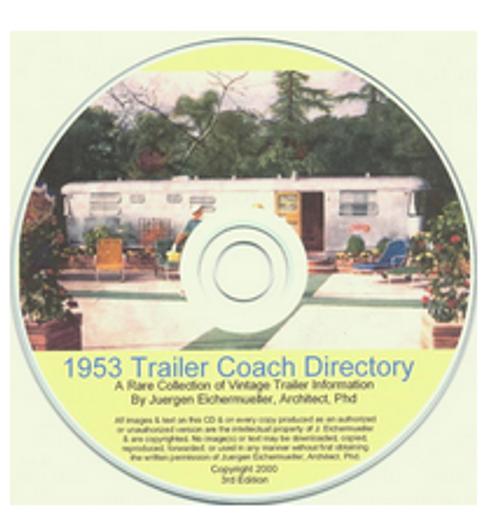CD-ROM 1953 Trailer Coach Directory (CBL002)