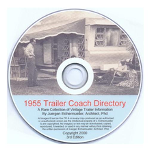 CD-ROM 1955 Trailer Coach Directory (CBL003)