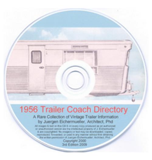 CD-ROM 1956 Trailer Coach Directory (CBL004)