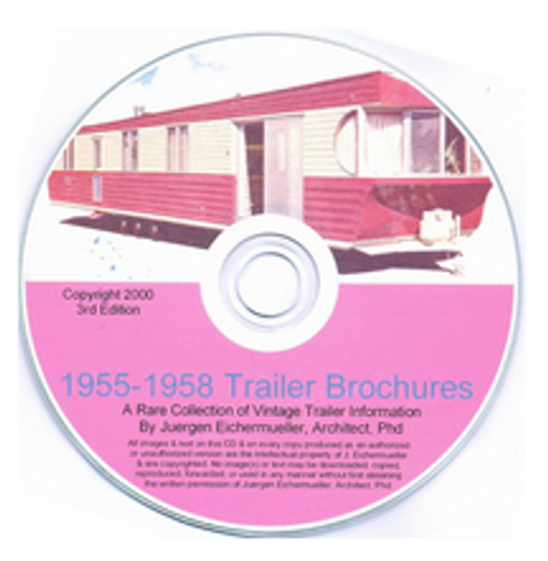 CD-ROM 1955-1958 Trailer Brochures (CBL011)