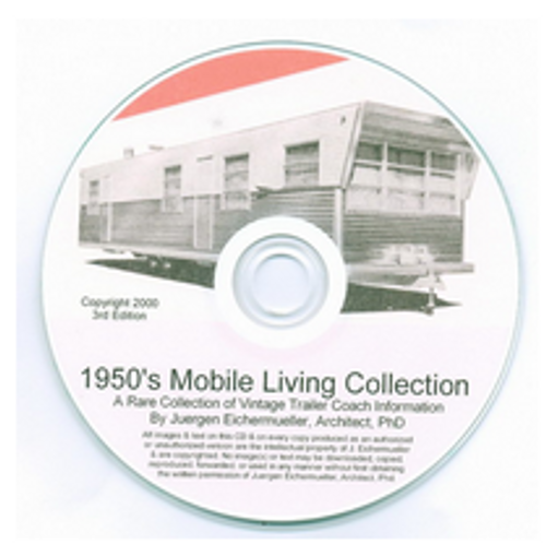 CD-ROM 1950\'s Mobile Living Collection (CBL013)