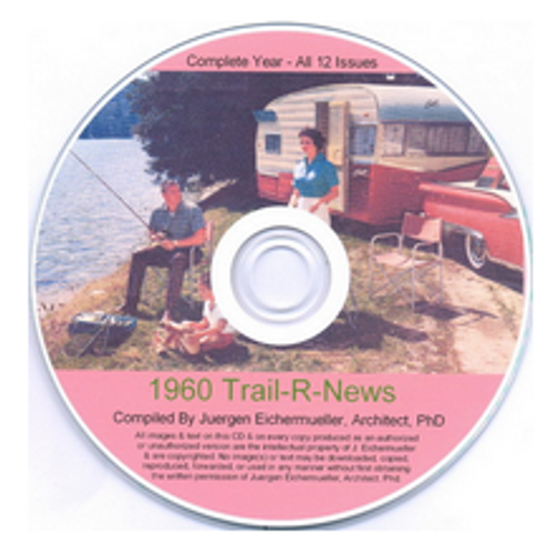 CD-ROM 1960 Trail-R-News (CBL014)