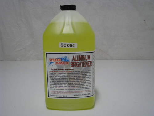Aluminum Brightener (SC004) PRODUCT SHOWN