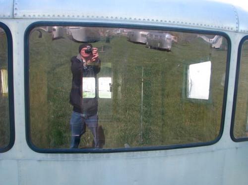 Spartan Center front Polycarbonate Window 1947-1953 (Clear) (CBP018)