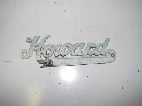 Howard Name Plate (HW072)