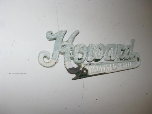Howard Name Plate (HW072)
