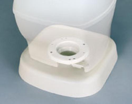 THETFORD TOILET RISER WHITE (12-1012)