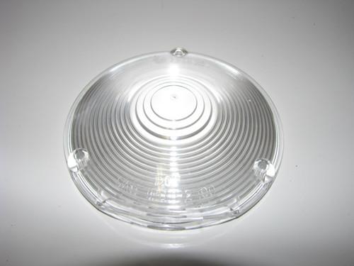 "Clear Round Lens - 4-1/8"" (CLT027)"