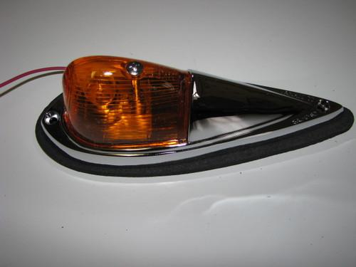 Tear Drop Style Clearance Light - Amber (CLT034)