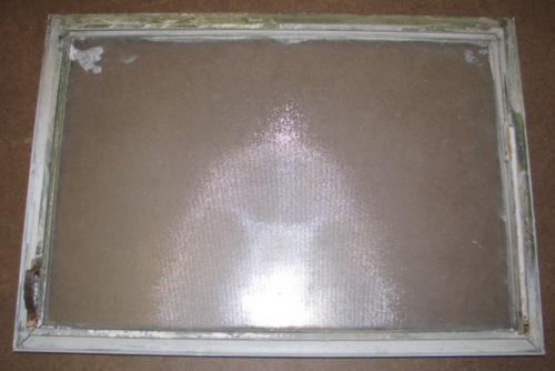 "13-1/16""x18-3/8"" Aluminum Spartan Window (BP101)"