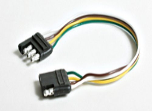 """Temp-Tow Lights 4-Way Connector Extension 12"""" (19-1055)"""