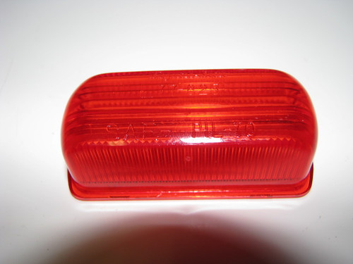 Rubber Base Marker Replacement Lens - Red (CLT050)