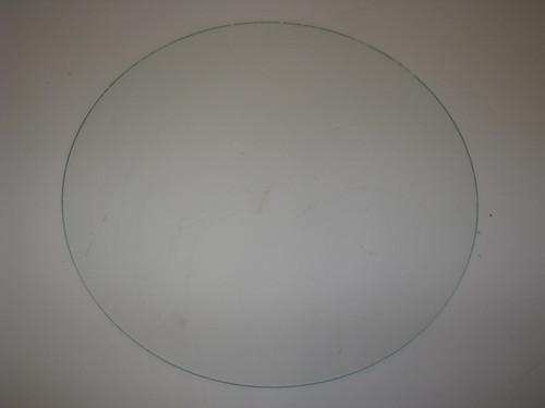 "14-7/16"" Round Glass for Spartan Door 46-53 (CBP029)"