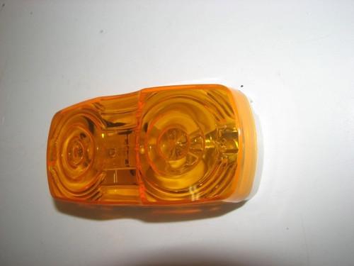 Double Bullseye Marker Light - Amber (CLT071)