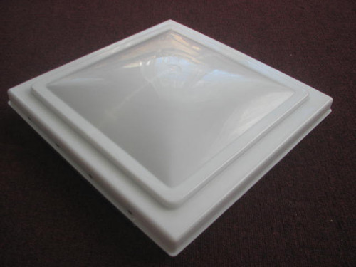 """VENTLINE 14"""" VENT LID ONLY - WHITE (22-1017) TOP VIEW"""