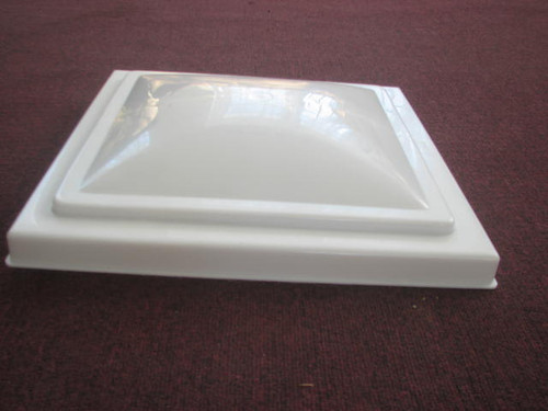 """VENTLINE 14"""" VENT LID ONLY - WHITE (22-1017) ALTERNATE TOP VIEW"""