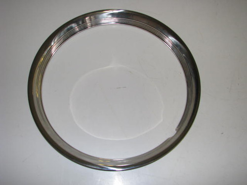 "15"" Stainless Steel Beauty Ring (CCH014) FRONT VIEW"