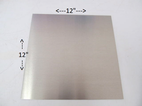 "Aluminum Square Patch 12x12"" - (CBP034)"