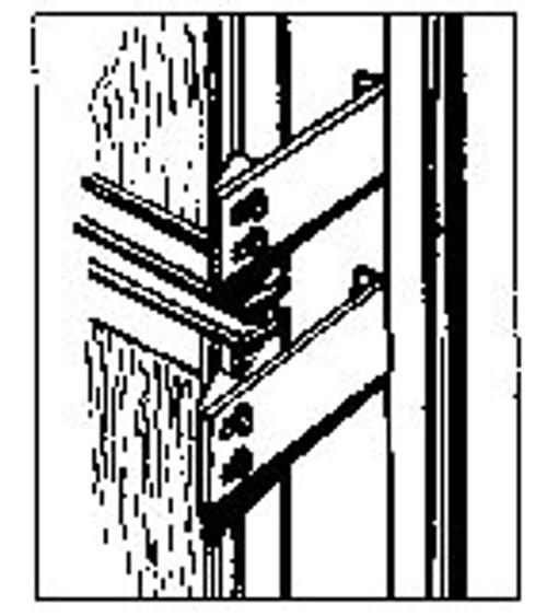 Double Door Refrigerator Latch (AP098)
