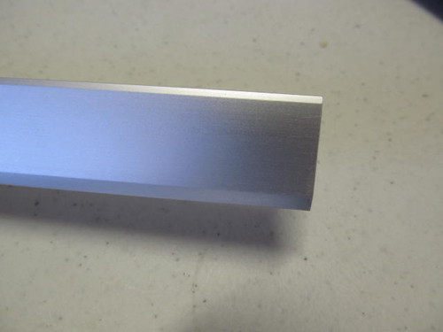 "7/8"" Smooth Countertop or Table Trim- 12' Satin (CHW128)"