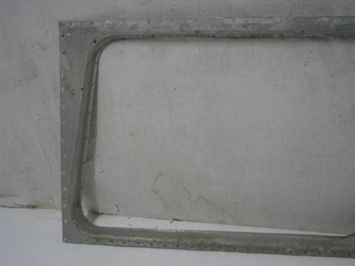 Exterior Spartan Slider Window Frame Curb Side (BP291)