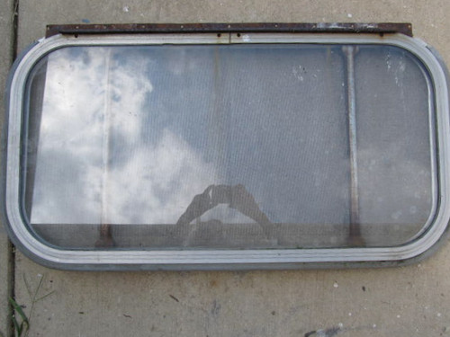 "17-3/8\"" x 33-3/8\"""" Aluminum Window with No Glass"" (BP299)"