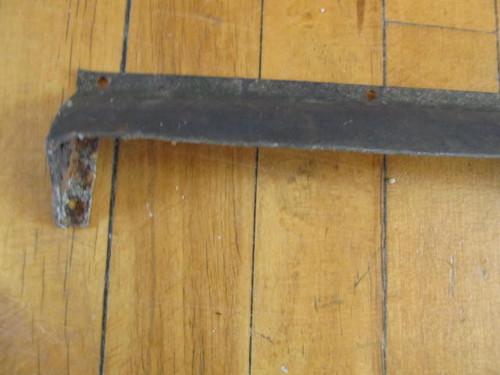 "Steel Drip Cap- 28"" (HW333)"