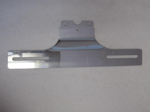 Reproduction of Bargman Trail-Lite #5 Stainless Steel License Plate Bracket (CLT102)