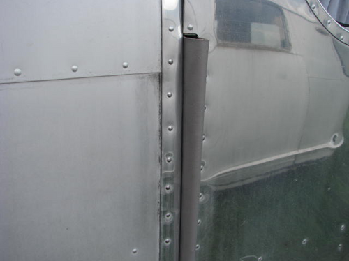 Spartan Door Hinge Cover (CHW139) NEW HINGE COVER INSTALLED