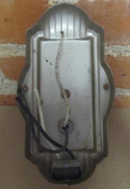 Steel Wall Sconce (LT400) REAR VIEW