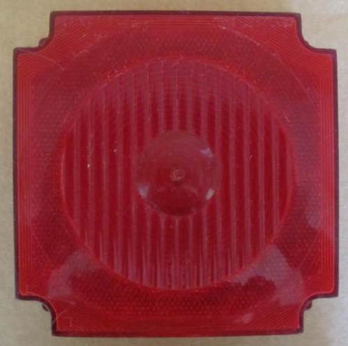 Reflect-O-Lite Square with License Light (Lens Only) (Front)
