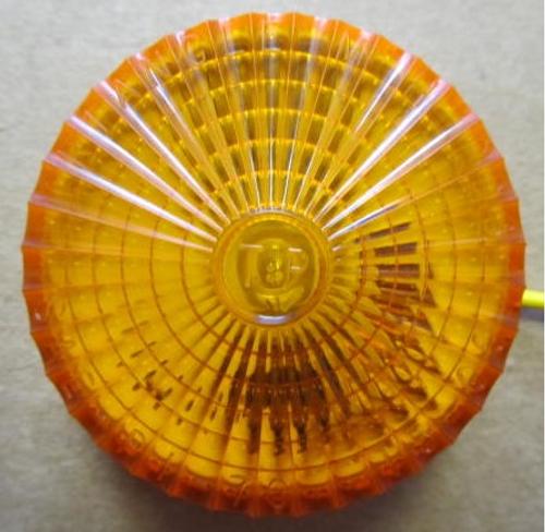 LT411 Amber Starburst Clearance Light (Front)
