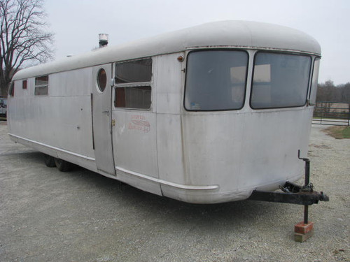 1951 Spartan 33 Ft. Royal Mansion #A4324  (SOLD)