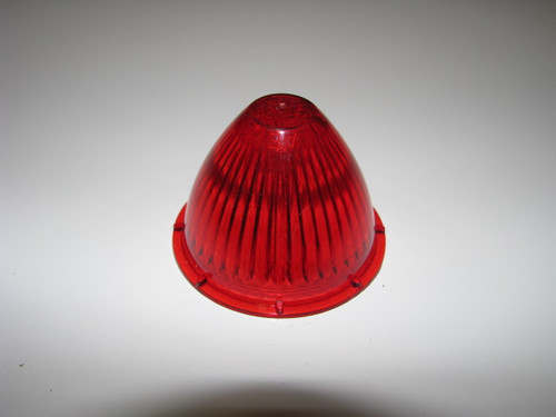 Beehive Lens - Red Fluted (CLT016)