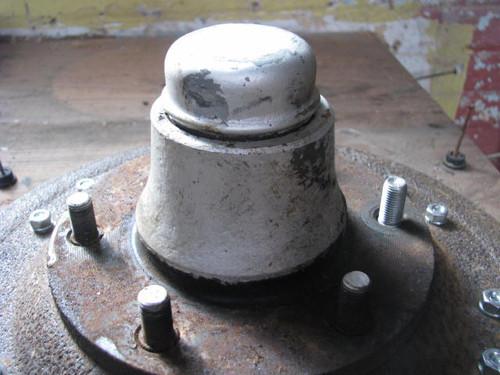 Grease Cap for 6 Lug Hub (CCH023) Original on hub