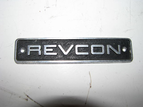 Revon Name Plate Small (HW105)
